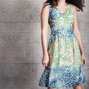 Boden Sumptuous Silk Dress